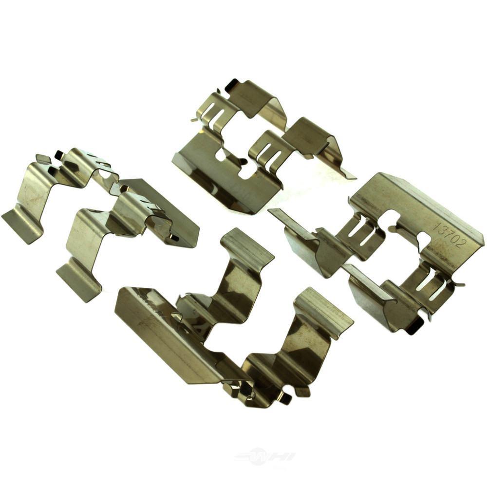 CENTRIC PARTS - Centric Posi-Quiet Semi-Metallic Disc Brake Pad Sets (Rear) - CEC 104.11140