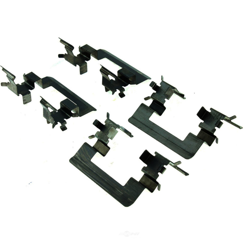 CENTRIC PARTS - Centric Posi-Quiet Semi-Metallic Disc Brake Pad Sets - CEC 104.11590