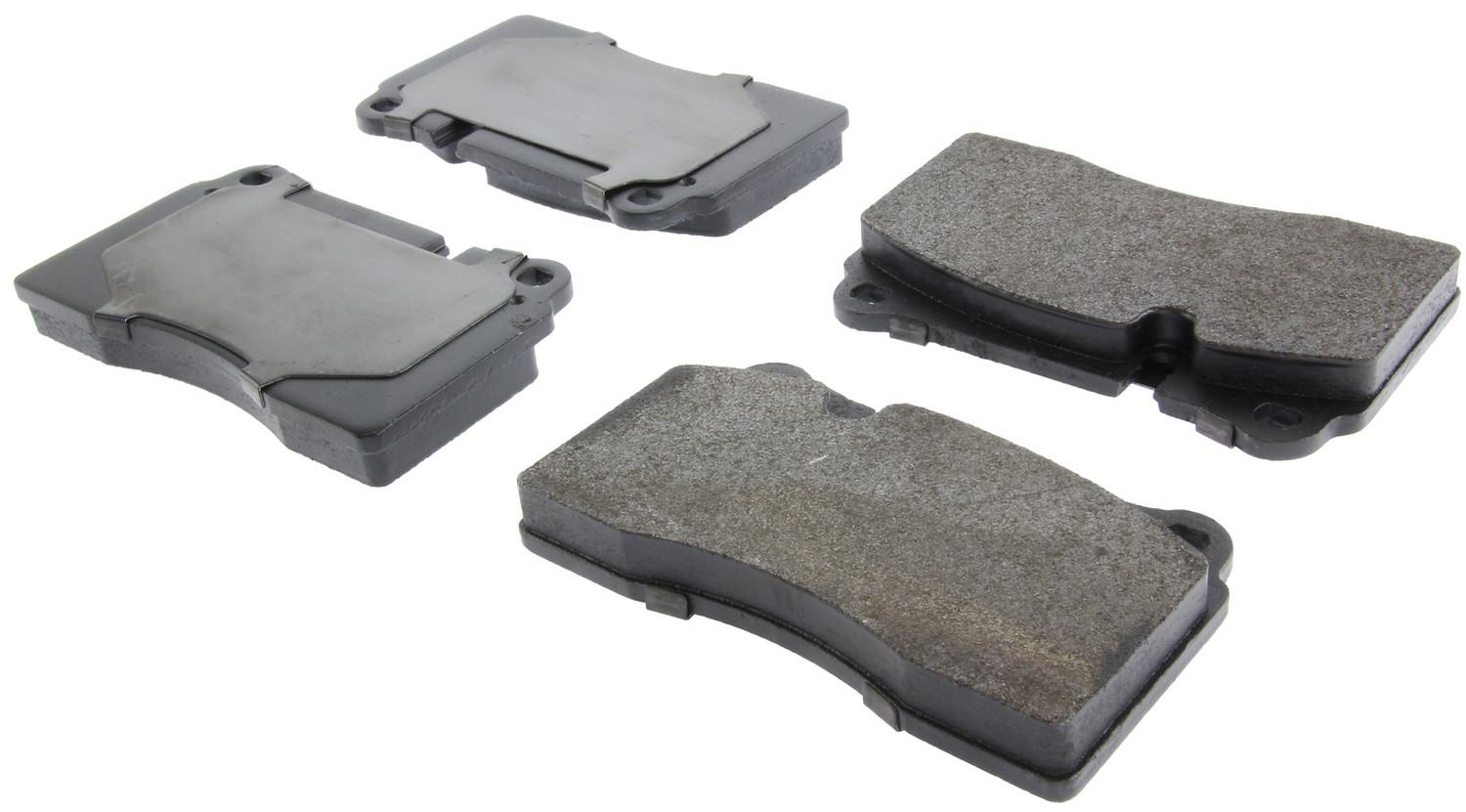 CENTRIC PARTS - Posi-Quiet Metallic Disc Brake Pad w/Shims & Hardware-Preferred (Front) - CEC 104.11650