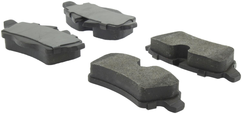 CENTRIC PARTS - Posi-Quiet Metallic Disc Brake Pad w/Shims & Hardware-Preferred (Rear) - CEC 104.13090