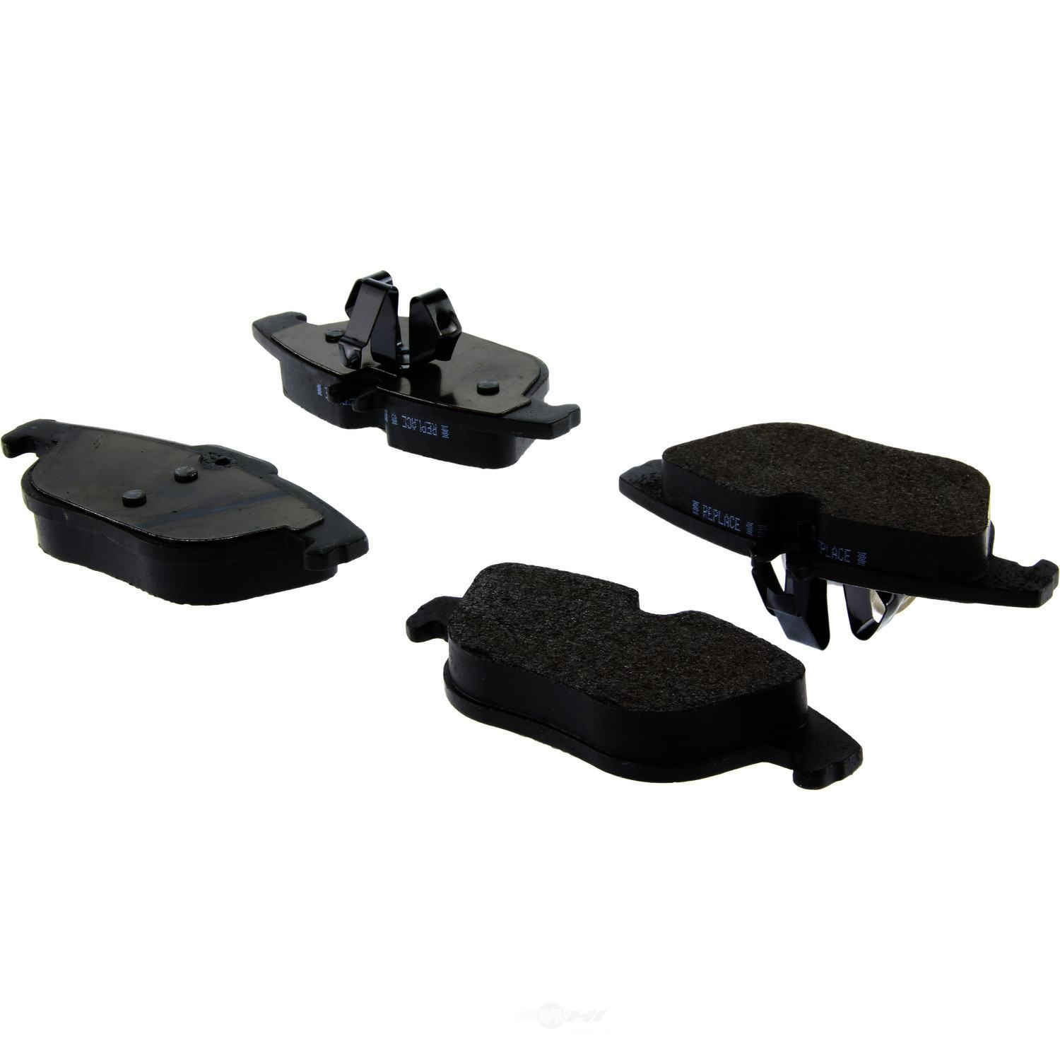 CENTRIC PARTS - Posi-Quiet Metallic Disc Brake Pad w/Shims & Hardware-Preferred (Rear) - CEC 104.13410