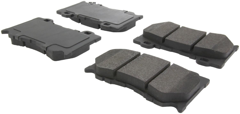 CENTRIC PARTS - Posi-Quiet Metallic Disc Brake Pad w/Shims & Hardware (Front) - CEC 104.13460