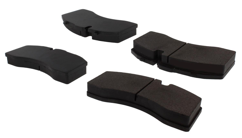 CENTRIC PARTS - Posi-Quiet Metallic Disc Brake Pad w/Shims & Hardware - CEC 104.13690