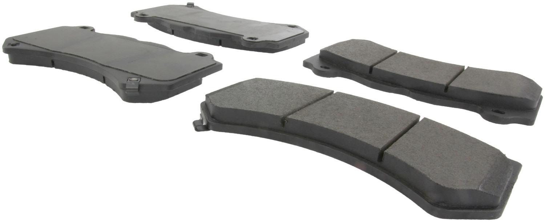 CENTRIC PARTS - Posi-Quiet Metallic Disc Brake Pad w/Shims & Hardware-Preferred (Front) - CEC 104.14050