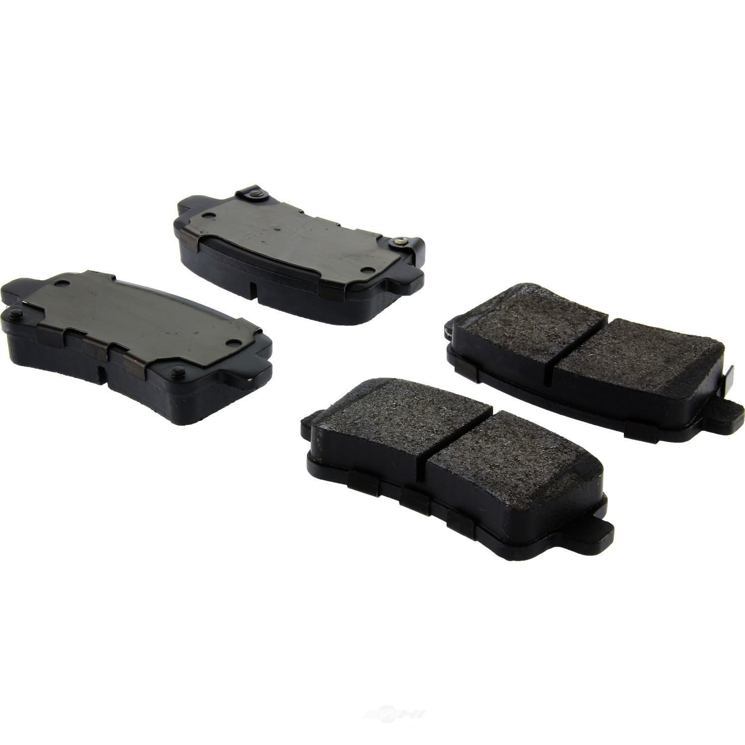 CENTRIC PARTS - Posi-Quiet Metallic Disc Brake Pad w/Shims & Hardware-Preferred (Rear) - CEC 104.14302