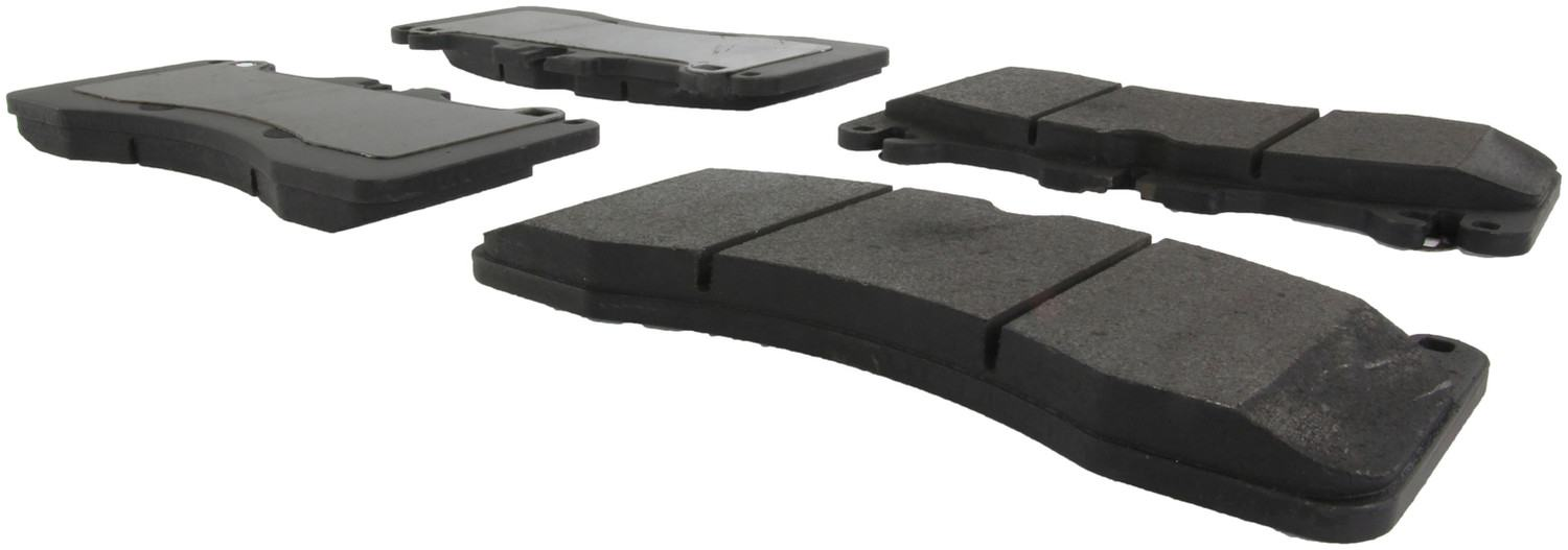 CENTRIC PARTS - Posi-Quiet Metallic Disc Brake Pad w/Shims & Hardware-Preferred (Front) - CEC 104.14400