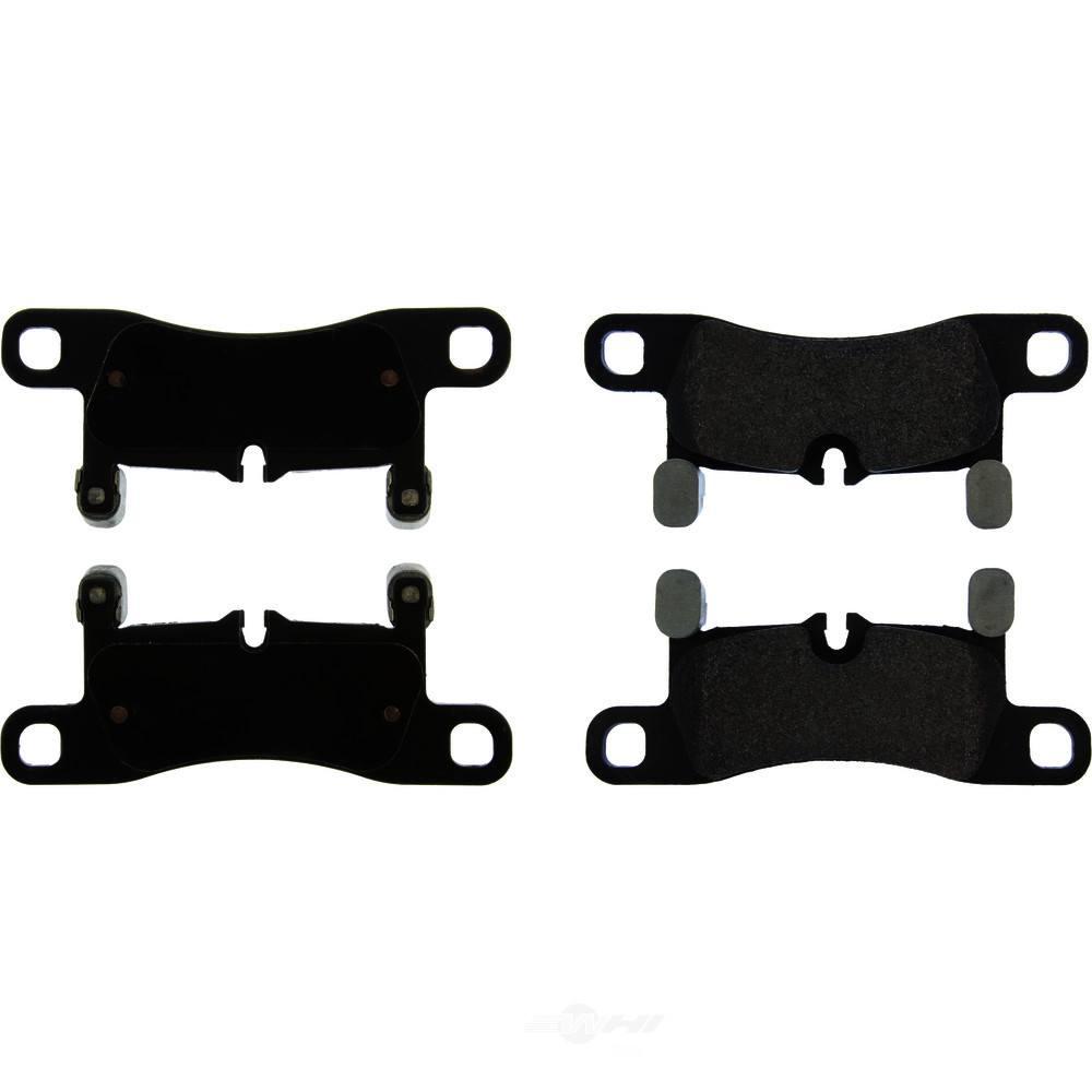 CENTRIC PARTS - Posi-Quiet Metallic Disc Brake Pad w/Shims & Hardware-Preferred (Rear) - CEC 104.14530