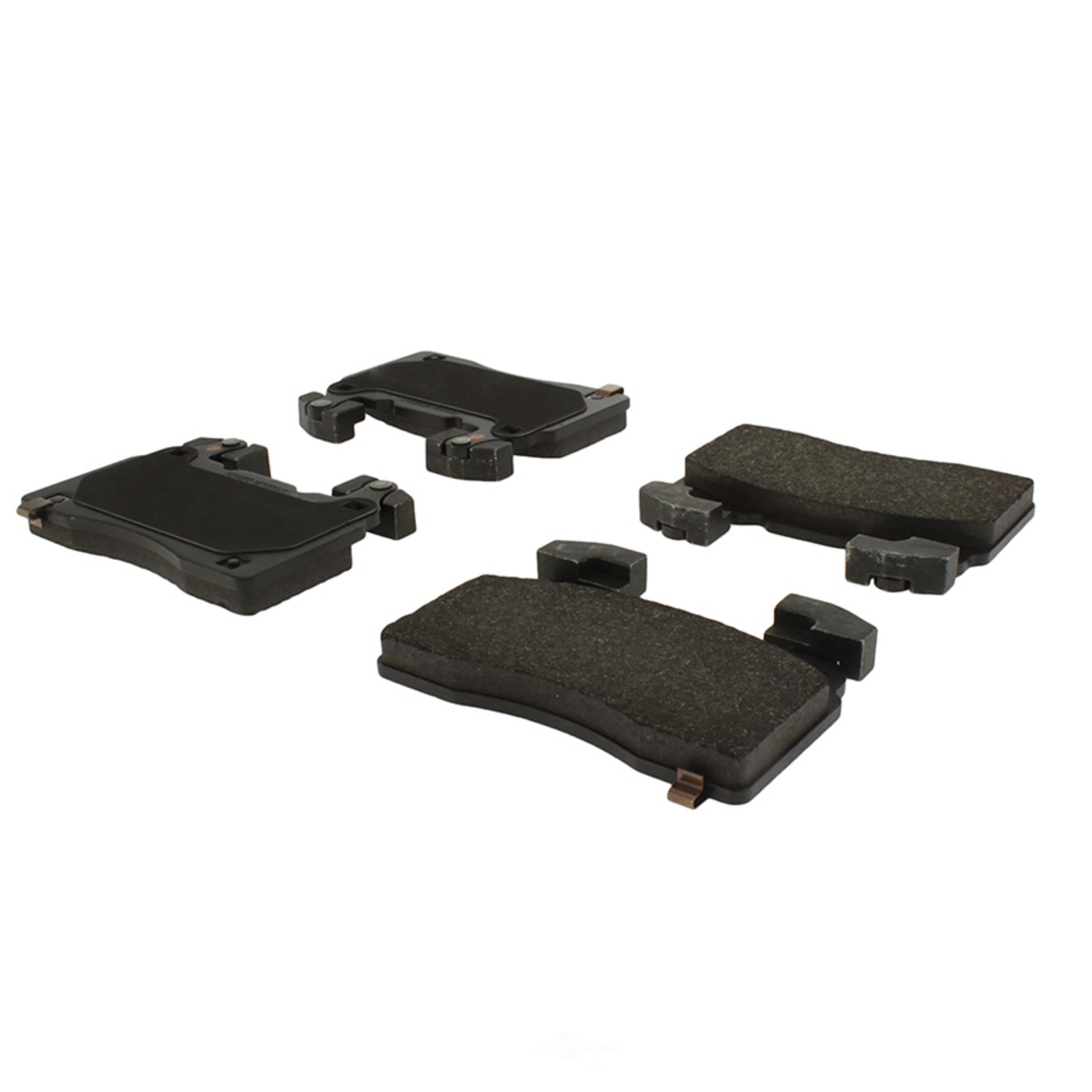 CENTRIC PARTS - Posi-Quiet Metallic Disc Brake Pad w/Shims & Hardware-Preferred (Front) - CEC 104.14741