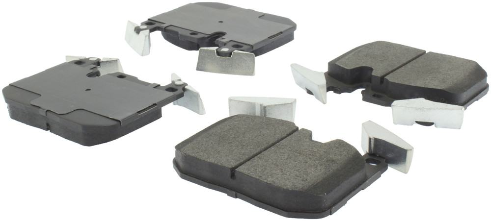 CENTRIC PARTS - Posi-Quiet Metallic Disc Brake Pad w/Shims & Hrdwr-Preferred (Front) - CEC 104.16090