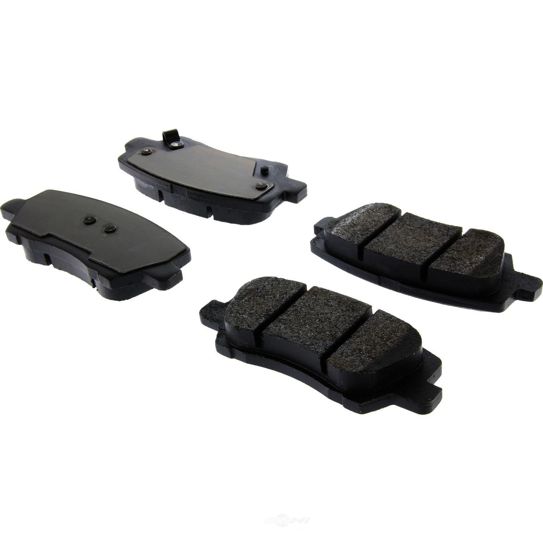 CENTRIC PARTS - Posi-Quiet Metallic Disc Brake Pad w/Shims & Hardware-Preferred (Rear) - CEC 104.16590