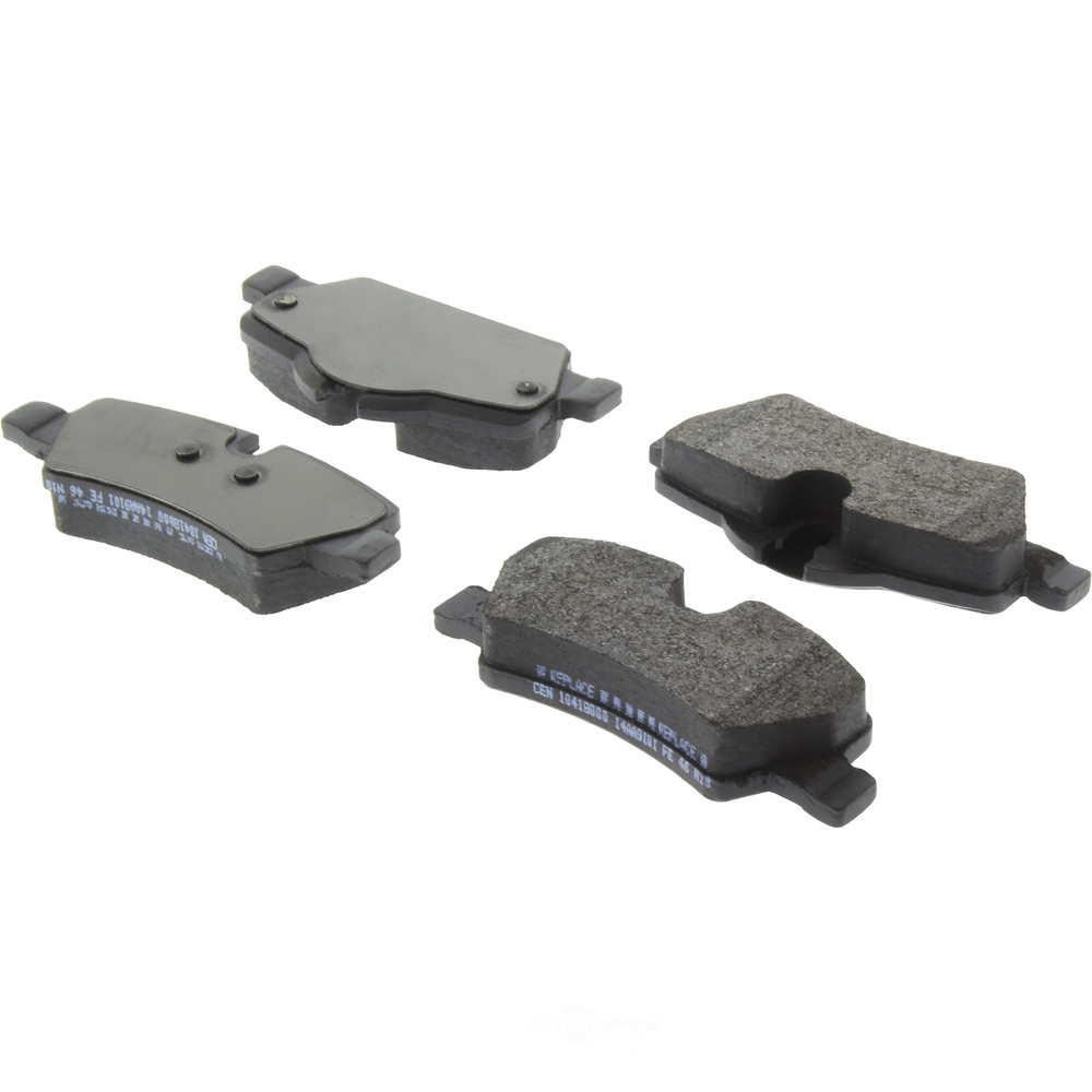 CENTRIC PARTS - Centric Posi-Quiet Semi-Metallic Disc Brake Pad Sets (Rear) - CEC 104.18000