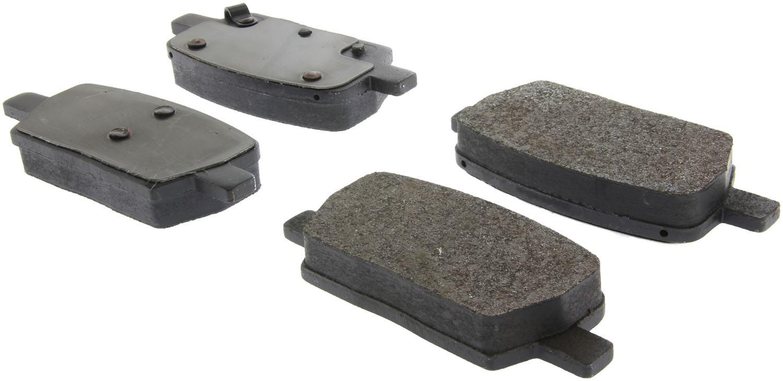 CENTRIC PARTS - Posi-Quiet Metallic Disc Brake Pad w/Shims-Preferred (Rear) - CEC 104.19140
