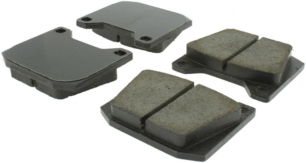 CENTRIC PARTS - Posi-Quiet Ceramic Disc Brake Pad w/Shims - CEC 105.00020