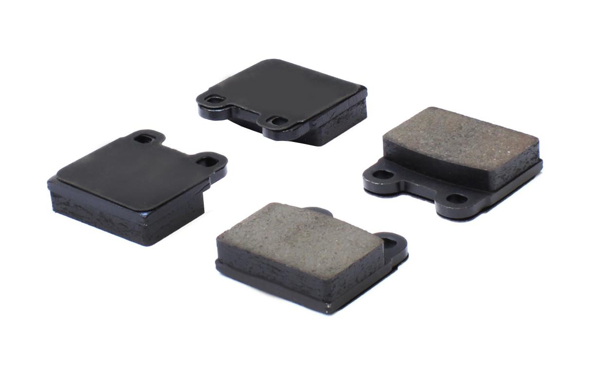 CENTRIC PARTS - Posi-Quiet Ceramic Disc Brake Pad w/Shims-Preferred (Front) - CEC 105.00300