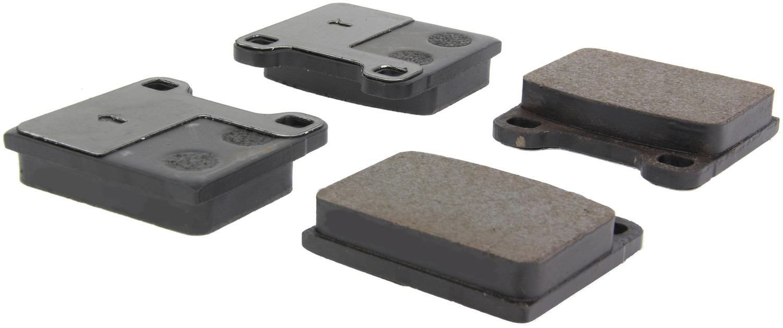 CENTRIC PARTS - Posi-Quiet Ceramic Disc Brake Pad w/Shims-Preferred (Front) - CEC 105.00310