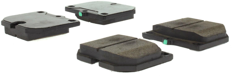 CENTRIC PARTS - Posi-Quiet Ceramic Disc Brake Pad w/Shims & Hardware-Preferred (Front) - CEC 105.01140
