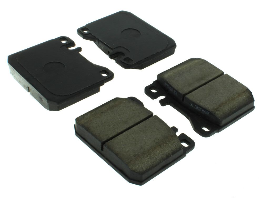 CENTRIC PARTS - Posi-Quiet Ceramic Disc Brake Pad w/Shims (Front) - CEC 105.01451