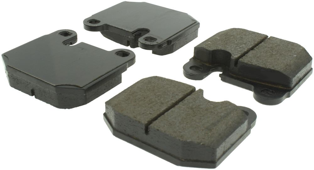 CENTRIC PARTS - Posi-Quiet Ceramic Disc Brake Pad w/Shims-Preferred - CEC 105.01740