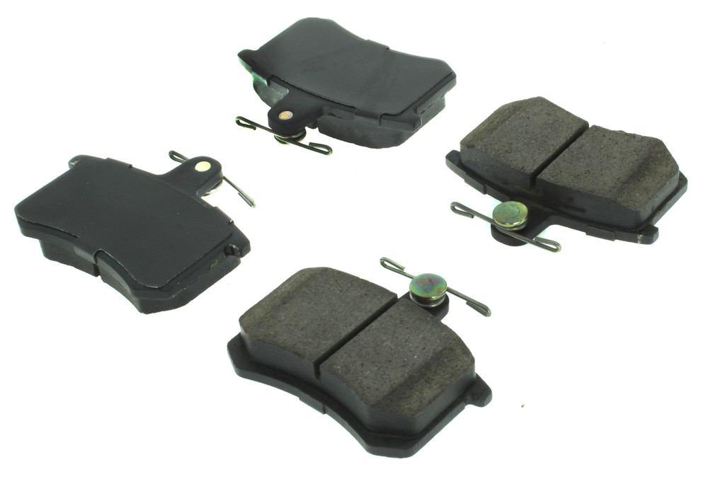CENTRIC PARTS - Posi-Quiet Ceramic Disc Brake Pad w/Shims & Hardware (Rear) - CEC 105.02280