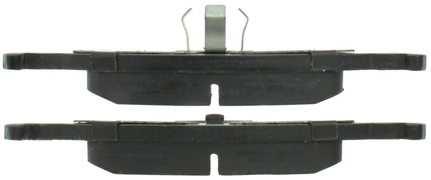 CENTRIC PARTS - Posi-Quiet Ceramic Disc Brake Pad w/Shims & Hardware (Rear) - CEC 105.03220