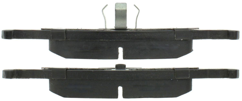 CENTRIC PARTS - Posi-Quiet Ceramic Disc Brake Pad w/Shims & Hardware (Rear) - CEC 105.03220