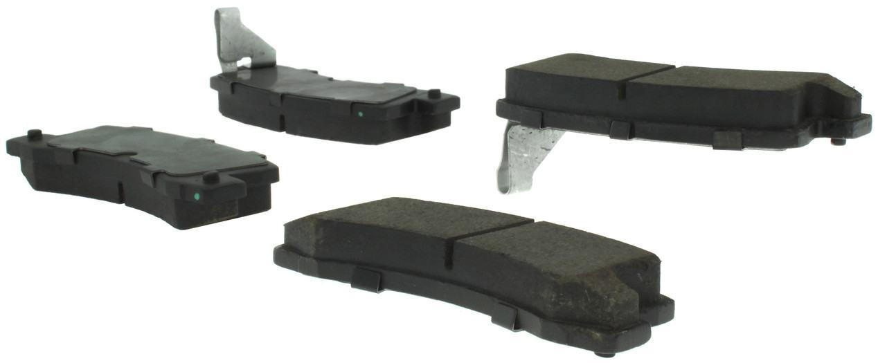 CENTRIC PARTS - Posi-Quiet Ceramic Disc Brake Pad w/Shims & Hardware-Preferred (Rear) - CEC 105.03250