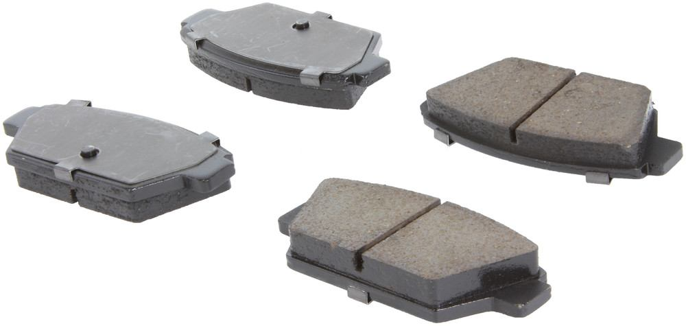 CENTRIC PARTS - Posi-Quiet Ceramic Disc Brake Pad w/Shims & Hardware-Preferred (Rear) - CEC 105.03290