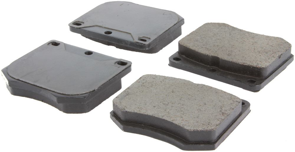 CENTRIC PARTS - Posi-Quiet Ceramic Disc Brake Pad w/Shims-Preferred - CEC 105.03300
