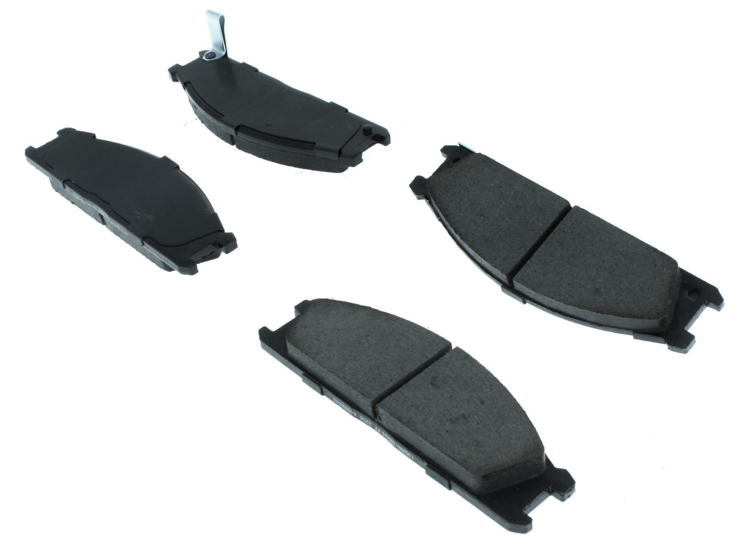 CENTRIC PARTS - Posi-Quiet Ceramic Disc Brake Pad w/Shims & Hardware (Front) - CEC 105.03330