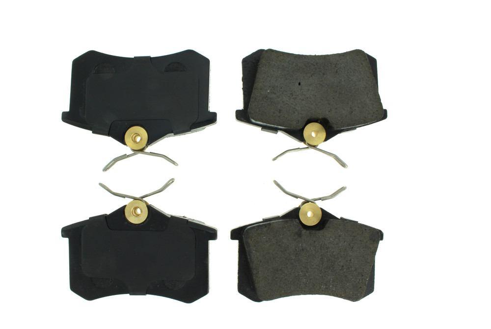 CENTRIC PARTS - Posi-Quiet Ceramic Disc Brake Pad w/Shims-Preferred (Rear) - CEC 105.03400