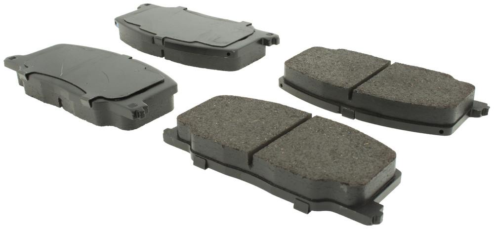 CENTRIC PARTS - Posi-Quiet Ceramic Disc Brake Pad w/Shims & Hardware-Preferred - CEC 105.03560