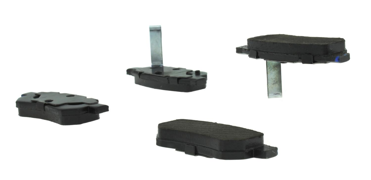 CENTRIC PARTS - Posi-Quiet Ceramic Disc Brake Pad w/Shims & Hardware-Preferred (Rear) - CEC 105.03741
