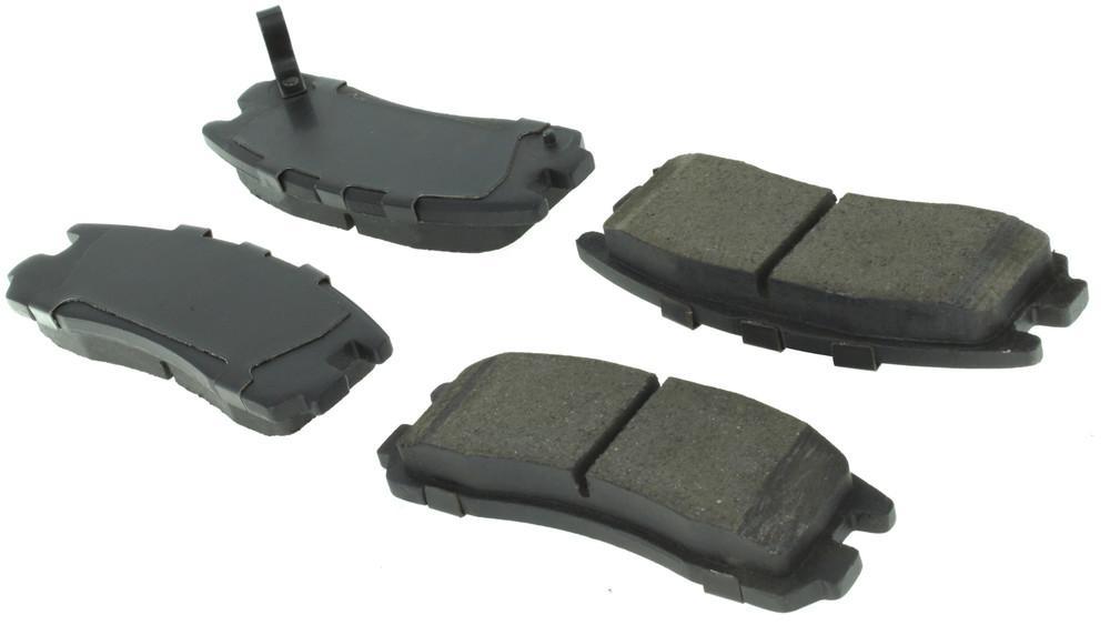 CENTRIC PARTS - Centric Posi-Quiet Ceramic Disc Brake Pad Sets (Rear) - CEC 105.03830