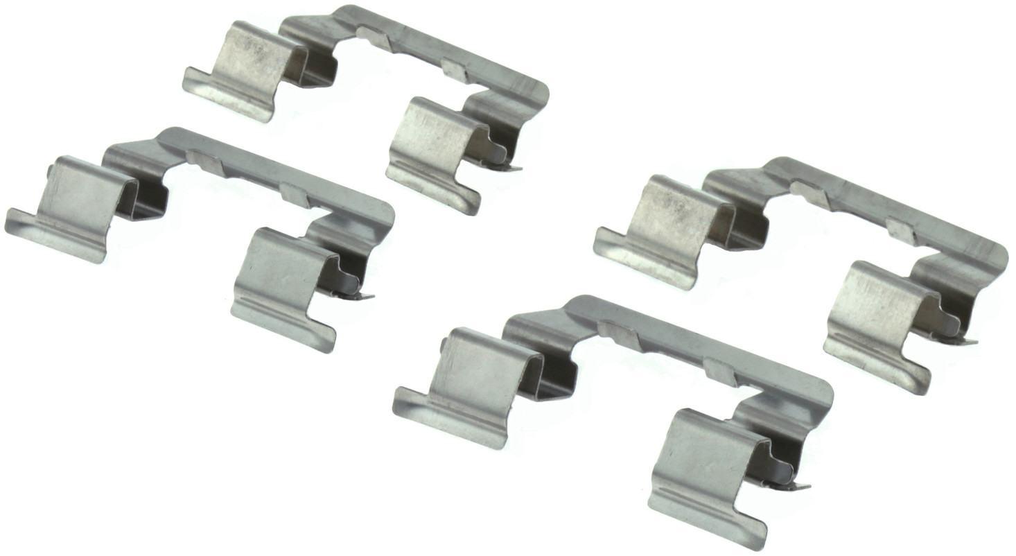 CENTRIC PARTS - Posi-Quiet Ceramic Disc Brake Pad w/Shims & Hardware-Preferred (Front) - CEC 105.04400