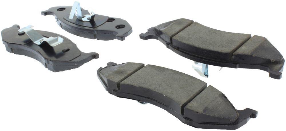 CENTRIC PARTS - Centric Posi-Quiet Ceramic Disc Brake Pad Sets (Front) - CEC 105.04770