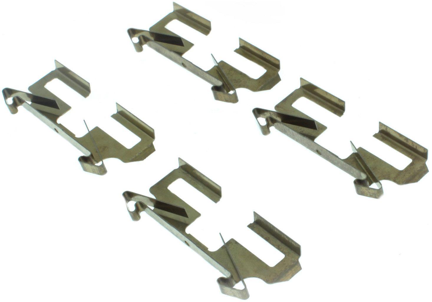 CENTRIC PARTS - Posi-Quiet Ceramic Disc Brake Pad w/Shims & Hardware-Preferred (Rear) - CEC 105.04790