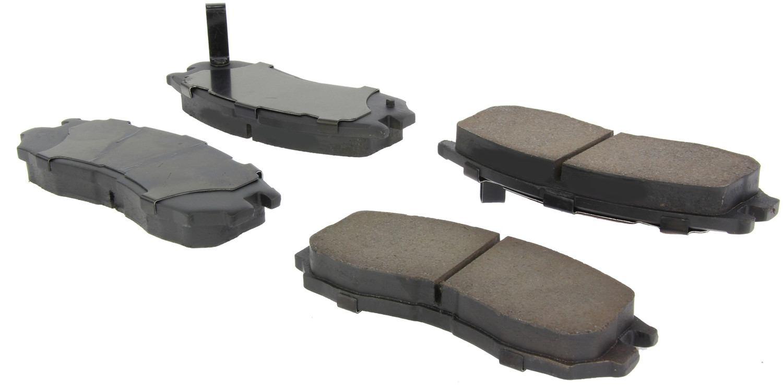 CENTRIC PARTS - Posi-Quiet Ceramic Disc Brake Pad w/Shims & Hardware-Preferred (Front) - CEC 105.04840