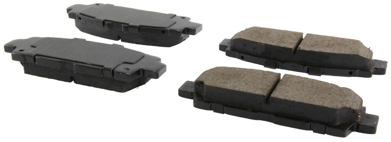 CENTRIC PARTS - Centric Posi-Quiet Ceramic Disc Brake Pad Sets (Rear) - CEC 105.04880
