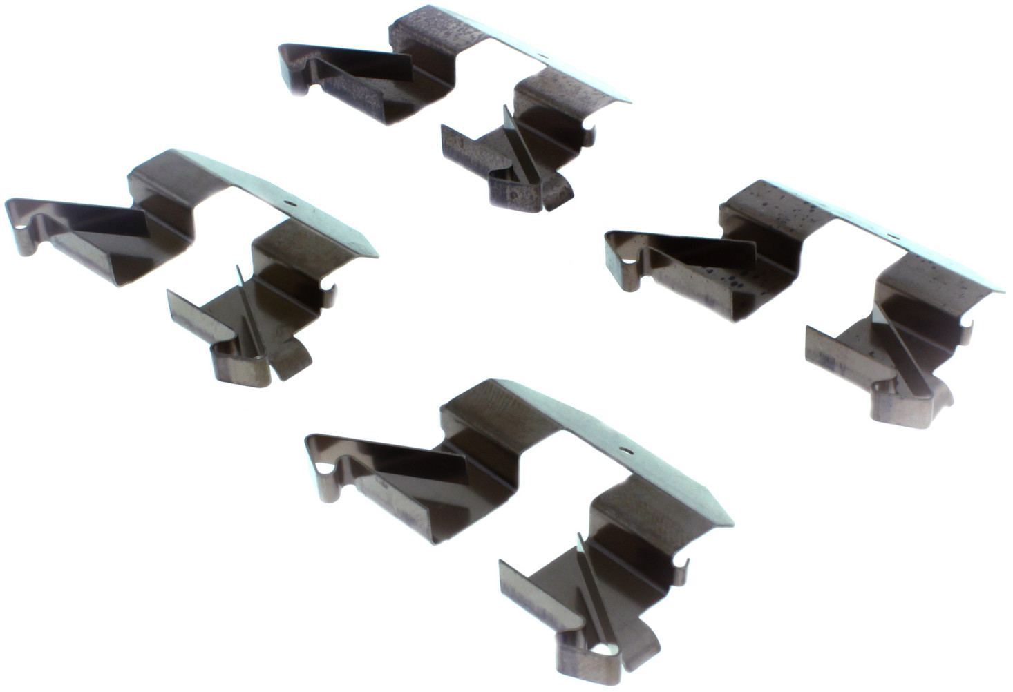 CENTRIC PARTS - Posi-Quiet Ceramic Disc Brake Pad w/Shims & Hardware-Preferred (Rear) - CEC 105.05110