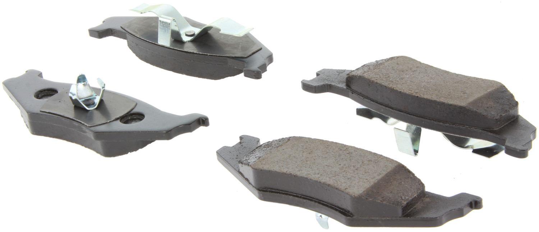 CENTRIC PARTS - Centric Posi-Quiet Ceramic Disc Brake Pad Sets (Rear) - CEC 105.05120