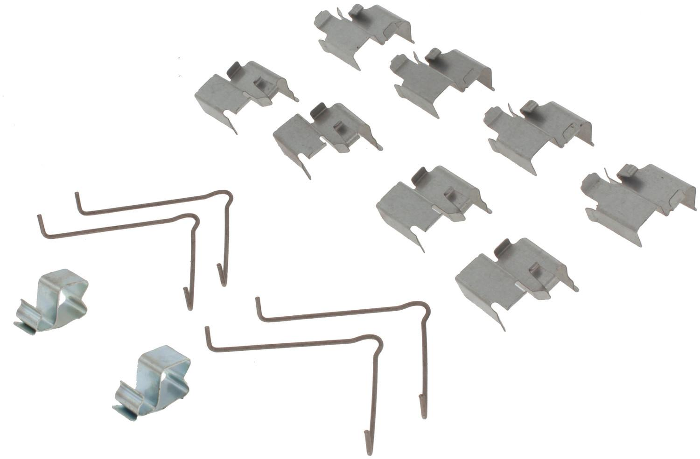 CENTRIC PARTS - Posi-Quiet Ceramic Disc Brake Pad w/Shims & Hardware (Front) - CEC 105.05250