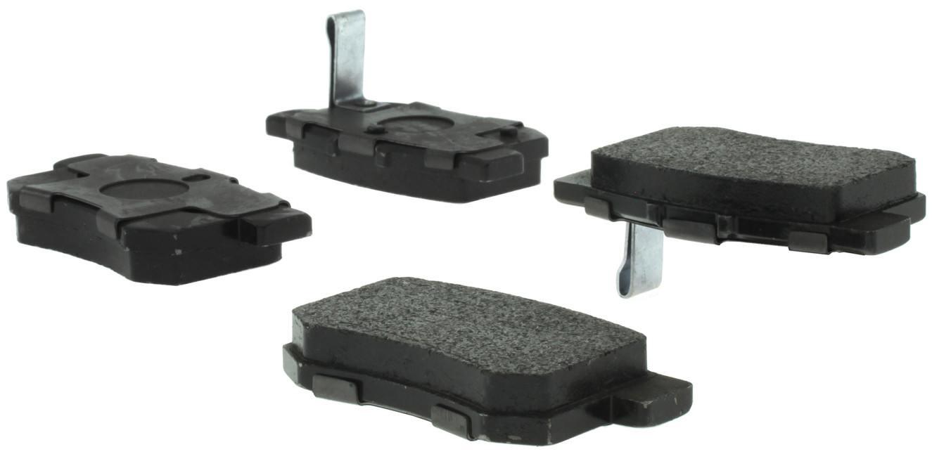 CENTRIC PARTS - Posi-Quiet Ceramic Disc Brake Pad w/Shims & Hardware-Preferred (Rear) - CEC 105.05370
