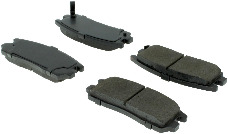 CENTRIC PARTS - Centric Posi-Quiet Ceramic Disc Brake Pad Sets (Rear) - CEC 105.05800