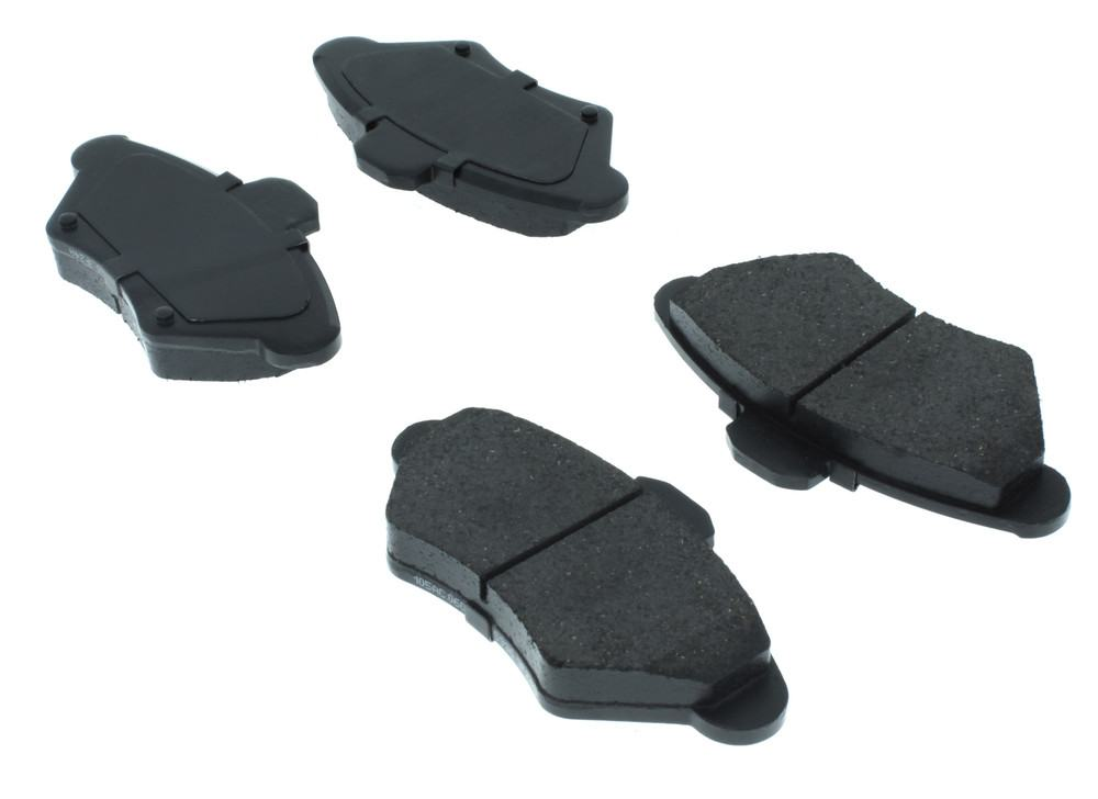 CENTRIC PARTS - Posi-Quiet Ceramic Disc Brake Pad w/Shims & Hardware-Preferred (Front) - CEC 105.06000
