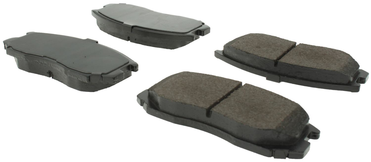 CENTRIC PARTS - Posi-Quiet Ceramic Disc Brake Pad w/Shims & Hrdwr-Preferred (Front) - CEC 105.06020
