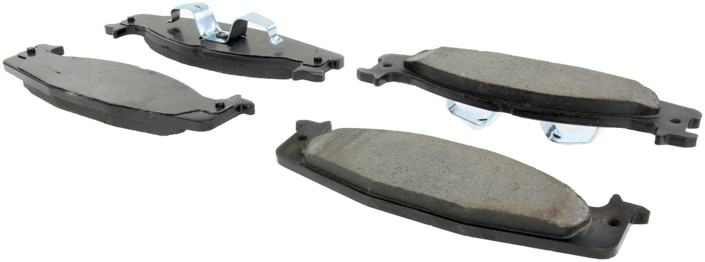 CENTRIC PARTS - Centric Posi-Quiet Ceramic Disc Brake Pad Sets (Front) - CEC 105.06320