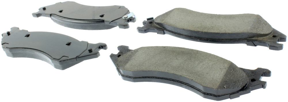 CENTRIC PARTS - Posi-Quiet Ceramic Disc Brake Pad w/Shims & Hardware (Front) - CEC 105.07020