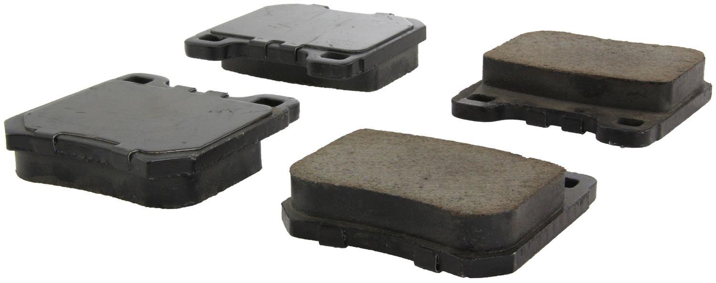 CENTRIC PARTS - Posi-Quiet Ceramic Disc Brake Pad w/Shims (Rear) - CEC 105.07091