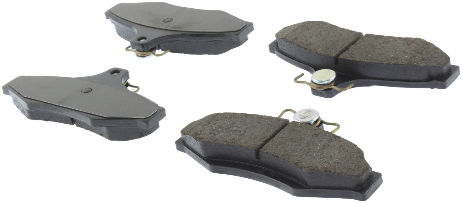 CENTRIC PARTS - Posi-Quiet Ceramic Disc Brake Pad w/Shims (Rear) - CEC 105.07240