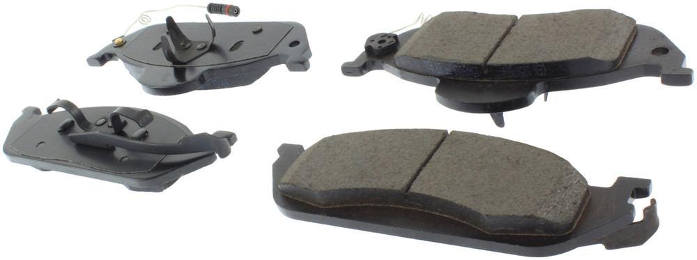 CENTRIC PARTS - Posi-Quiet Ceramic Disc Brake Pad w/Shims & Hardware (Front) - CEC 105.07600